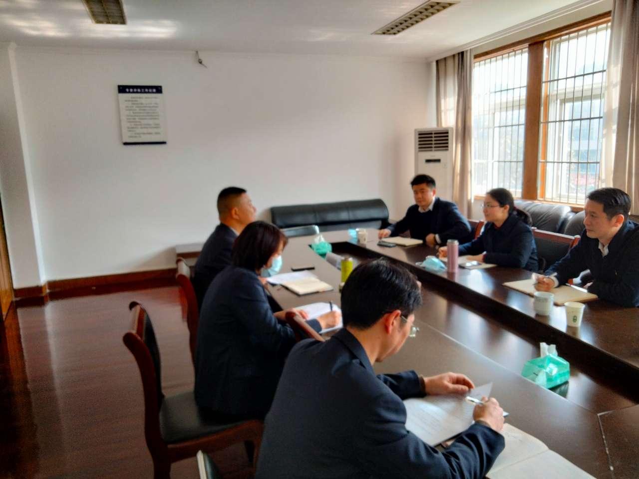 奉化区政务办赴溪口镇开展调研工作