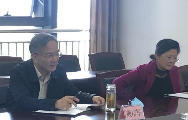 市人大副主任熊培军来市公共资源交管办调研并召开座谈会